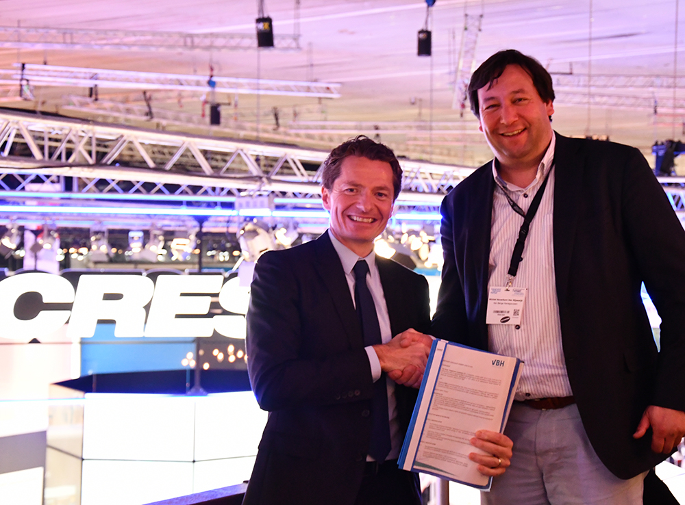 VBH and Crestron EMEA Enter into New Framework Agreement
